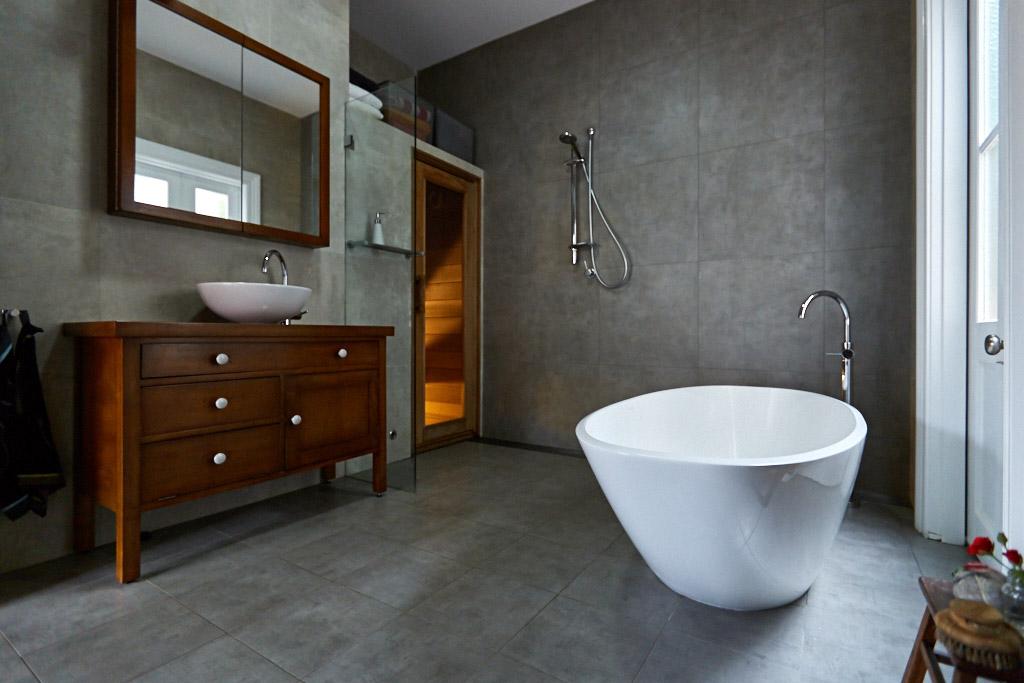 Bathroom and sauna - Balmain