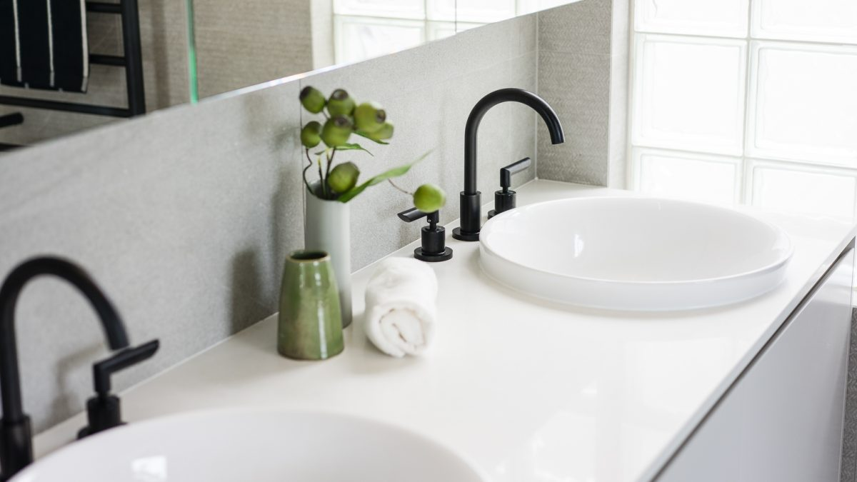 Vanity and basins