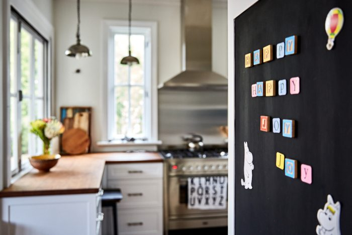 blackboard and kitchen - INSIDESIGN interior design blog