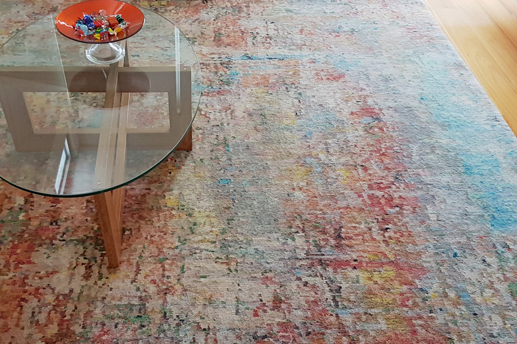 Beautiful rug INSIDESIGN Interior deocration