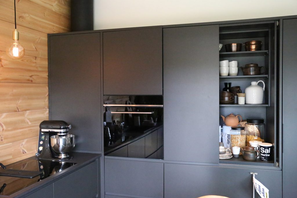 black-on-black-kitchen-with-nook