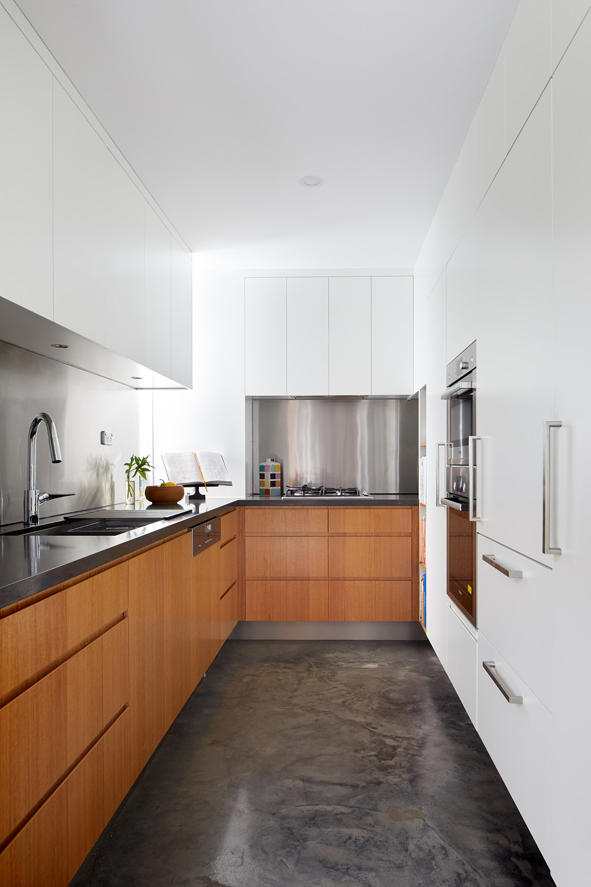 Kitchen re-design with functional cabinets