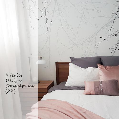 interior design consultancy booking button