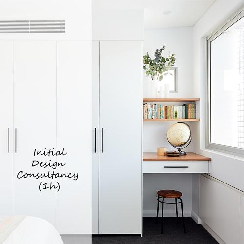 intial design consultancy book button