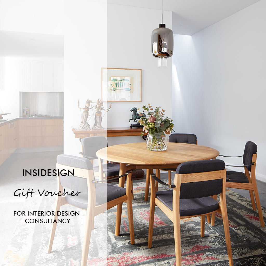 interior design gift voucher