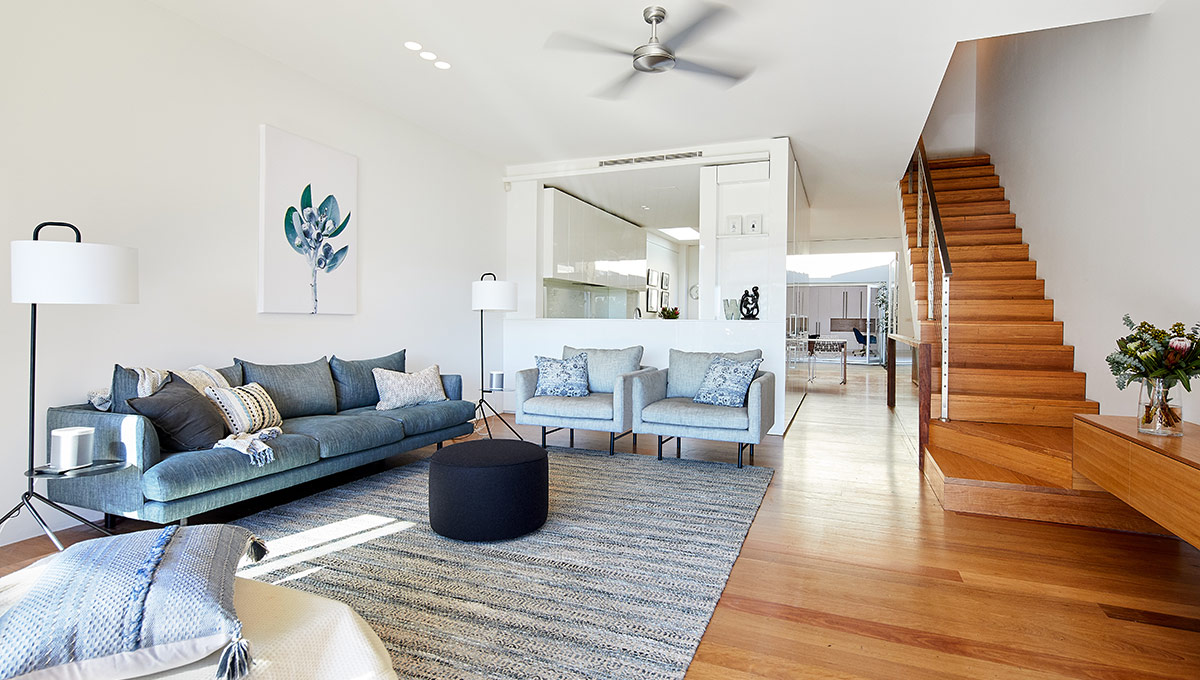 Inner West Sydney interior design gold implementation & styling