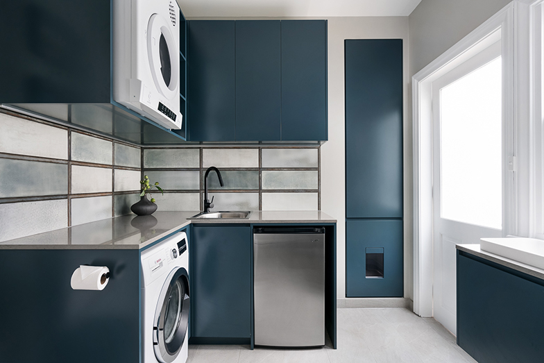 Laundry design by INSIDESIGN