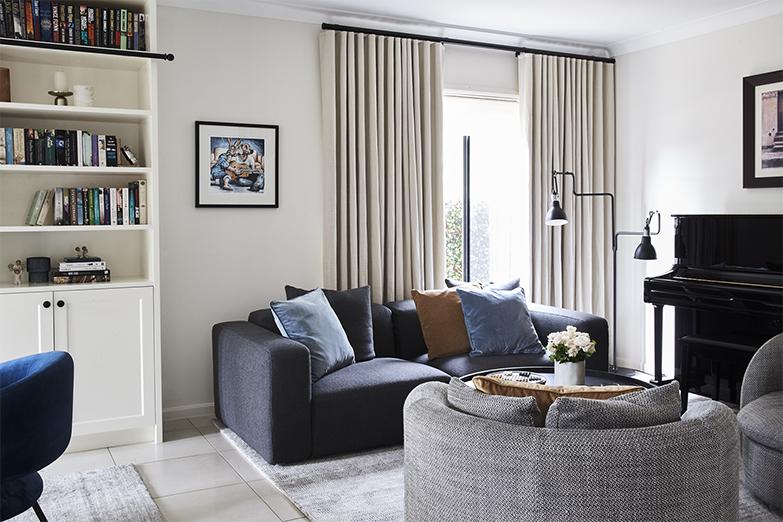 Living room design by INSIDESIGN