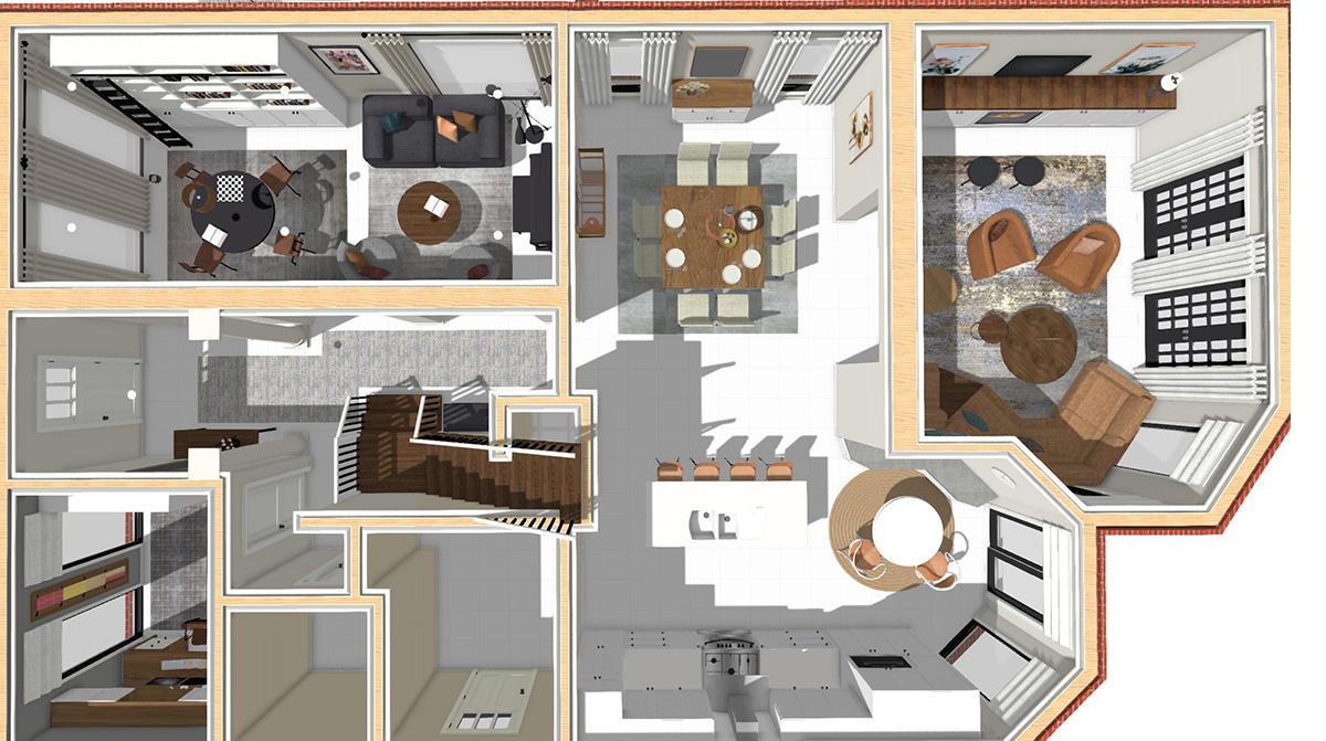 interior design - new floor plan