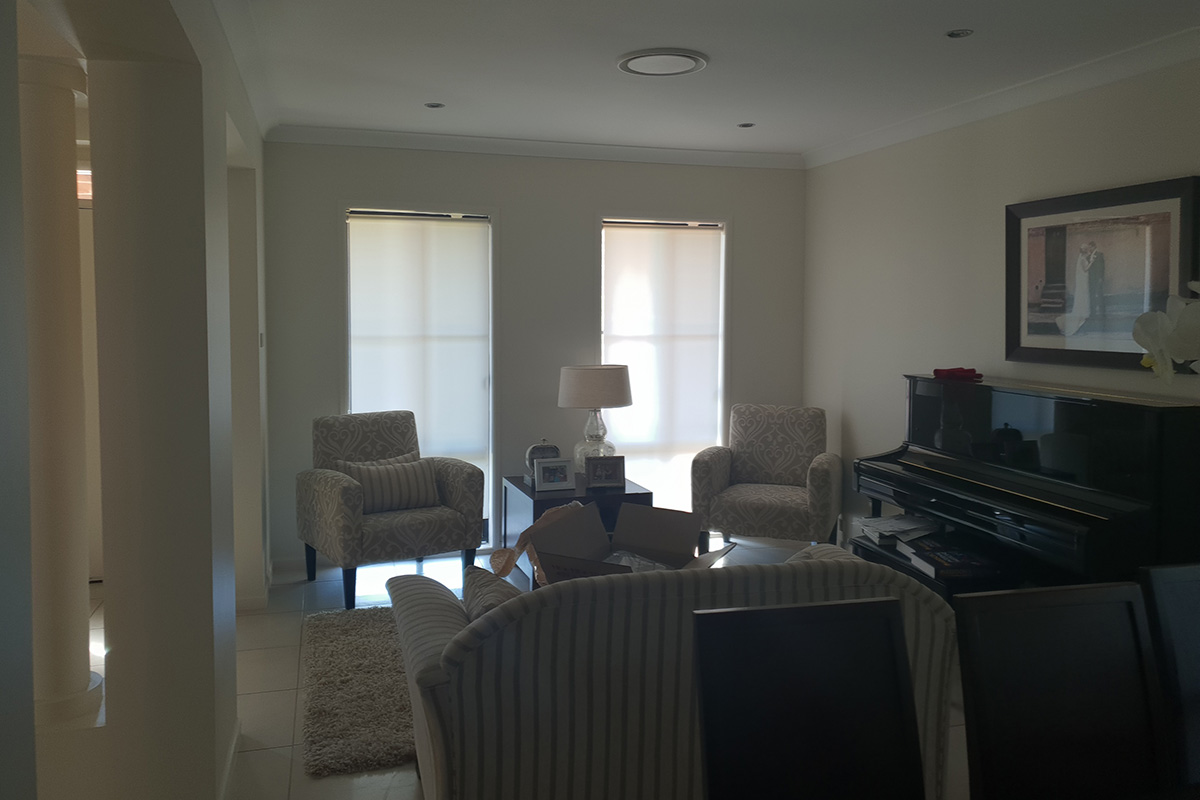 before a never used formal room